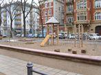 Ein Spielplatz für die Kinder nach der Aufwertung 2009