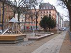 Spielplatz und Freiflächen auf dem Gartenfeldplatz nach 2009