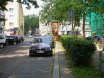 Die Parksituation auf und an der Lessingstraße vor der Aufwertung durch die Soziale Stadt
